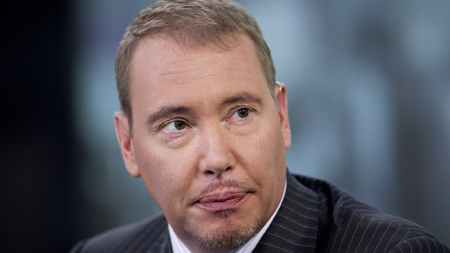 «It is interesting how you've starting to see signs of investor concern around the edges about the health of the economy and about the financial system», states Jeffrey Gundlach.