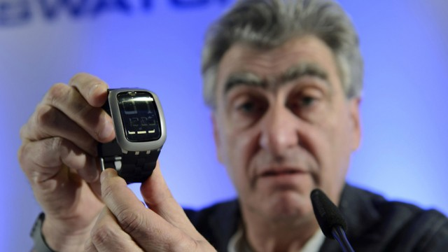 Nick Hayek, CEO der Swatch Group.