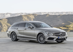 Mercedes CLS350 BlueTec Shooting Brake Teaser