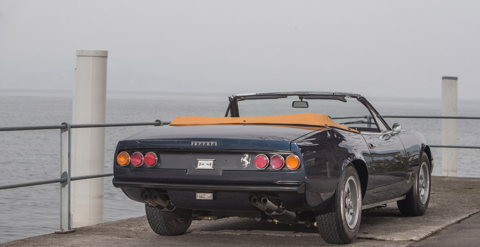 Ferrari 365 GTC/4 Spider Conversion