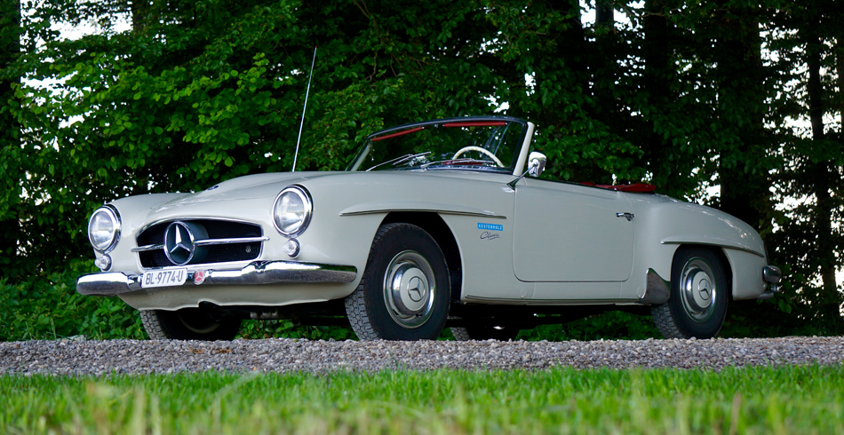 Mercedes benz 190 sl luxus classic cars finanz und for Mercedes benz cool springs
