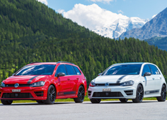 VW Golf R360S Teaser