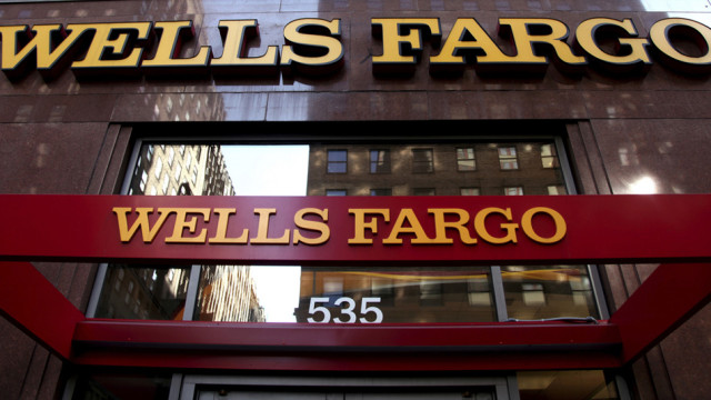 Sitz der US-Grossbank Wells Fargo in New York City.